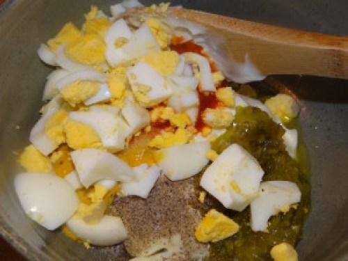 add egg