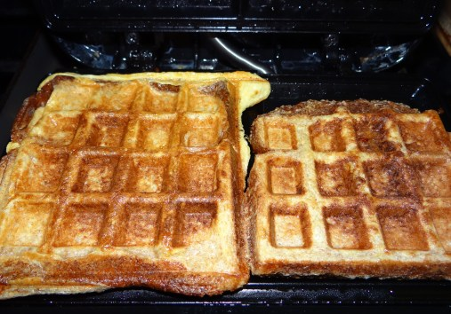 You will know your french toast waffles are done when they are golden brown just like regular waffles.