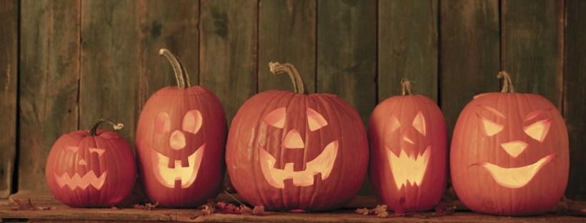 Jack-o-lanterns --- Image by © Royalty-Free/Corbis