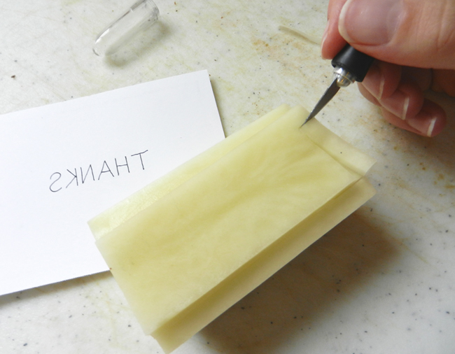 Make a Potato Stamp | The Postman's Knock by Lindsey Bugbee