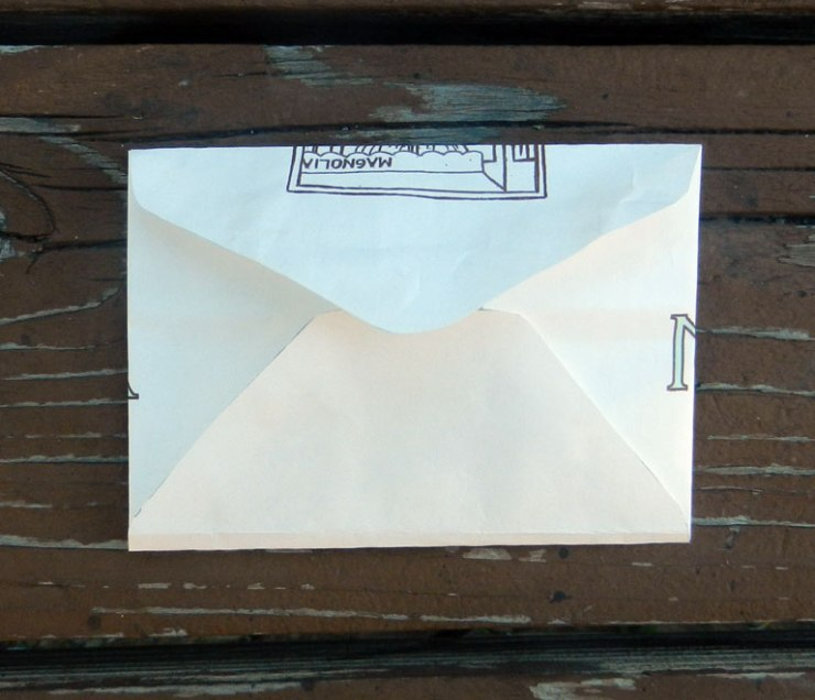 Make a Handmade Envelope from a Paper Sack | The Postman's Knock