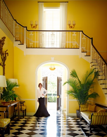 Evelyn Lauder Stairs photo by Douglas Friedman