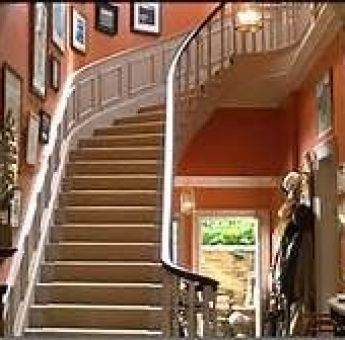 Parent Trap Stairways via Hooked on Houses