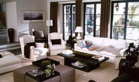 The Holiday Living room LA via Pinterest
