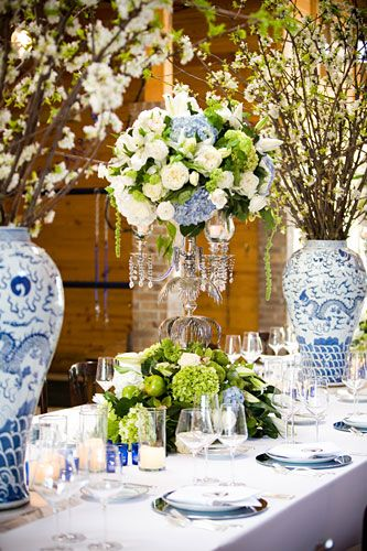 Todd Events Blue and White