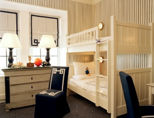 Tory Burch sons room via Vogue