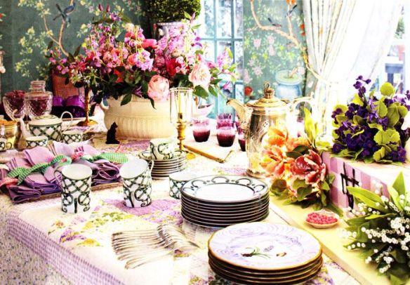 Whimsical Tablescape via Pinterest