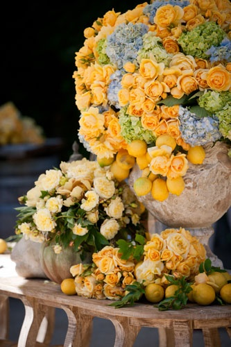 Yellow and Lemons via Todd Events