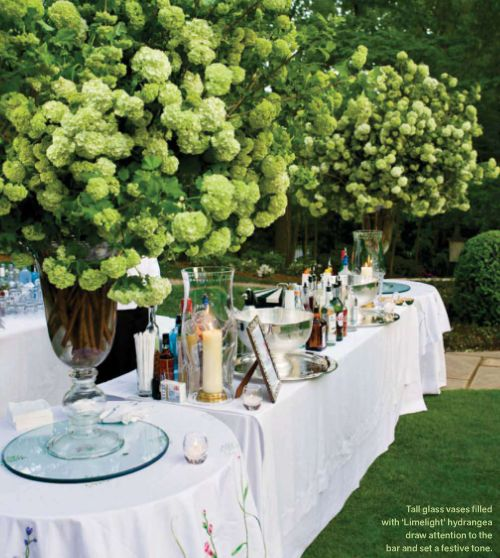 large green arrangements via My Favorite and My Best