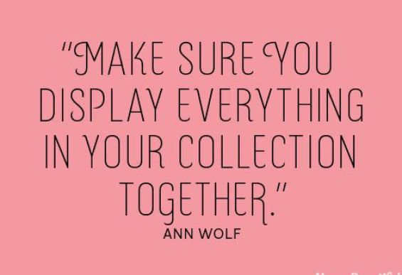 Ann WOlf Quote Via Houes Beautiful