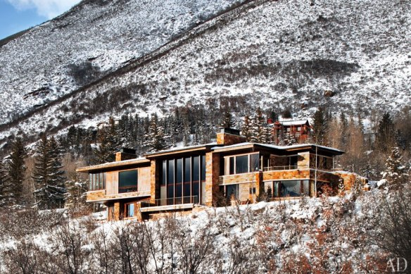 Aspen Home designed by Studio B Architects