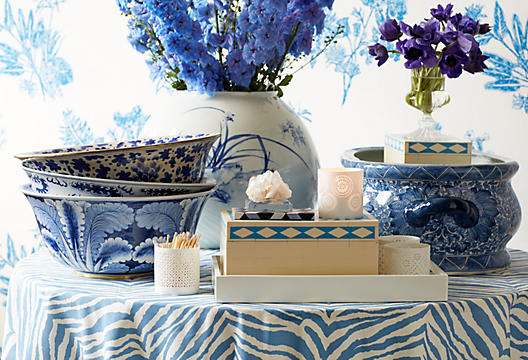 Blue and White Sale OKL