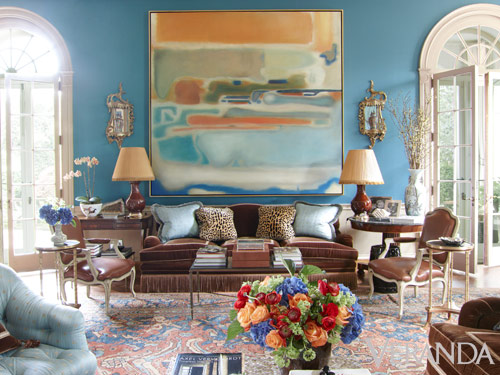 Danielle Rollins Boxwood Living Room
