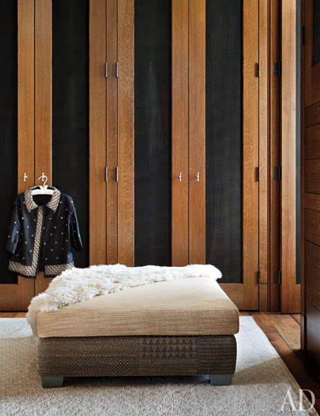 Dressing Room of Aspen Home designed by Studio Sofield