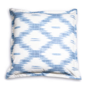 Furbish Blue Ikat Euro