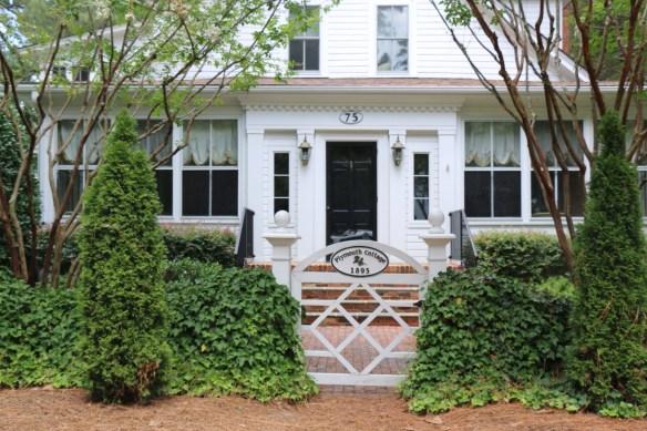 Gated front entry in Pinehurst