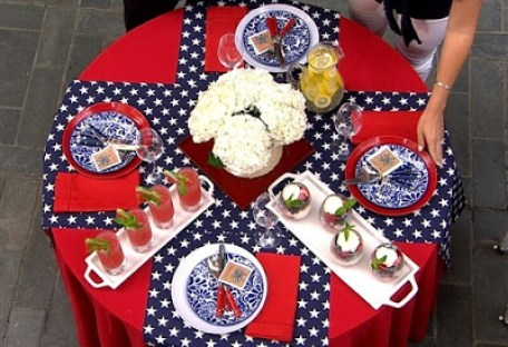 Kimberly Whitman Tablescape