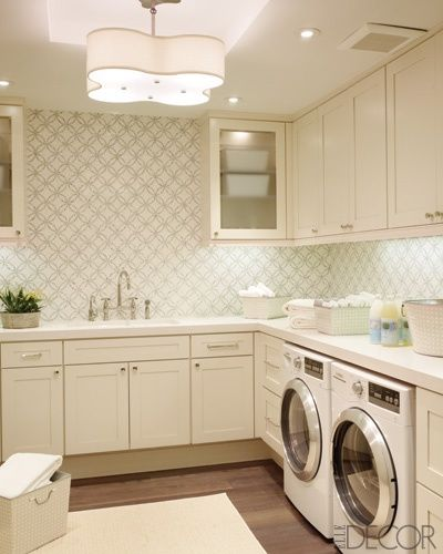 Large and functional laundry room