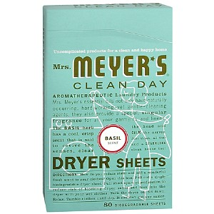Meyer's Clean Day Basil Dryer Sheets