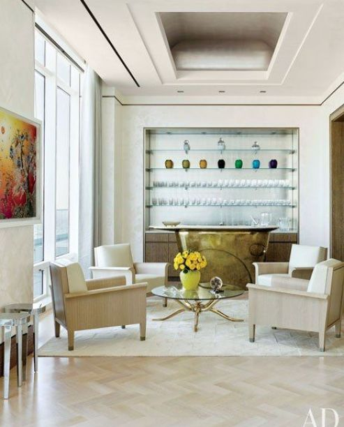 Modern NYC Apt designed by Rockwell Group via AD