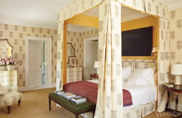 Nashville Boxwood Bedroom via Veranda