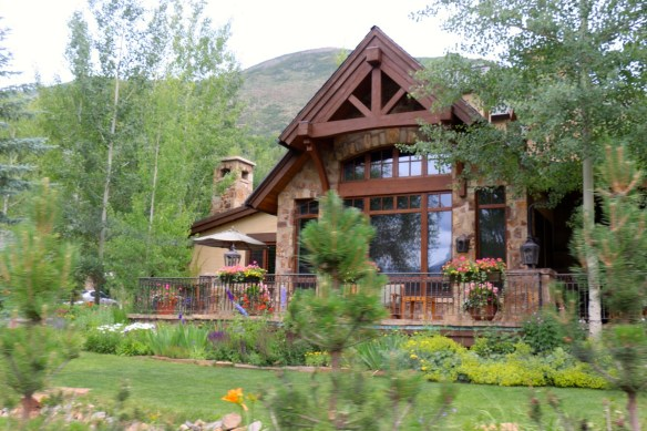 Picture Window in Aspen Home