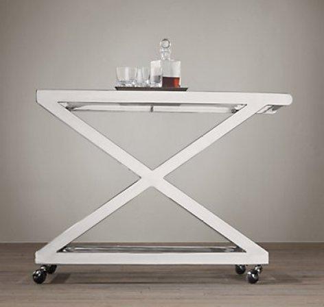 RH Milo Bar Cart