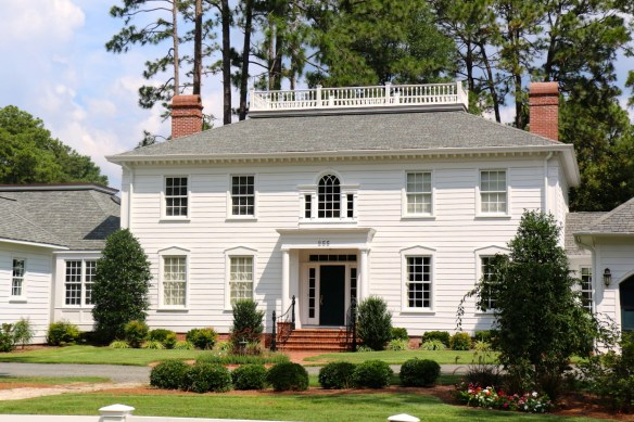 White home with great landscaping in NC