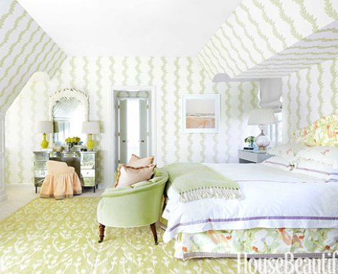 A Preppy Chicago Bedroom by Ruthie Sommers via HB
