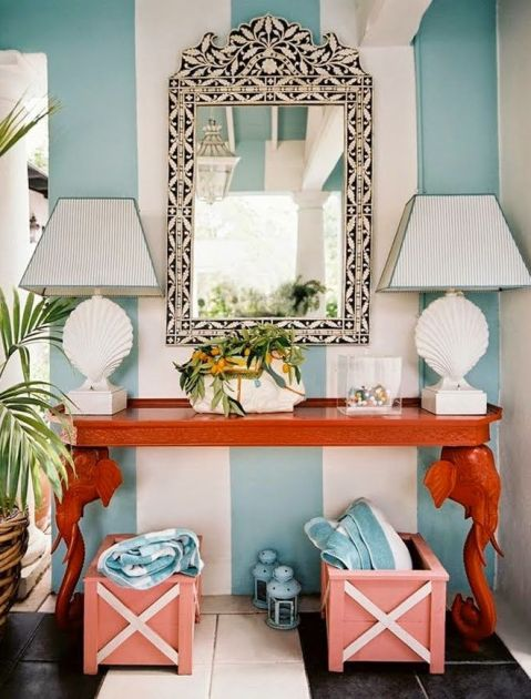 A fabulous fun vignette by Ruthie Sommers bia The Glam Pad
