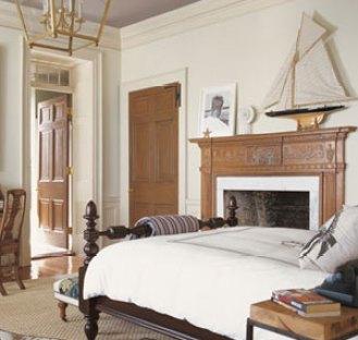 Bedroom in Charleston Home via Veranda