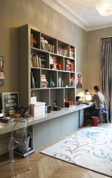 Duplex in Edingurgh via Apartment Therapy