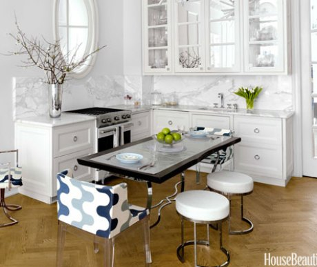 Kitchen of Small Apartment by Kelly Giesen via HB