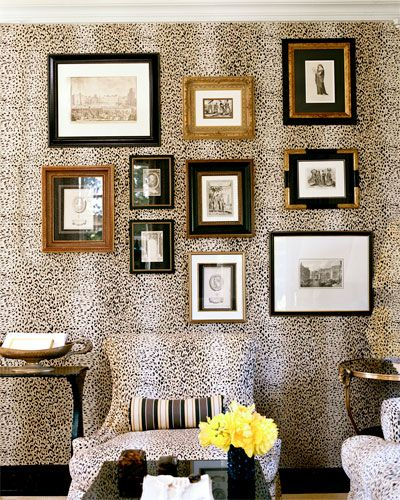 Mary McDonald's wall via Interior Design Chat