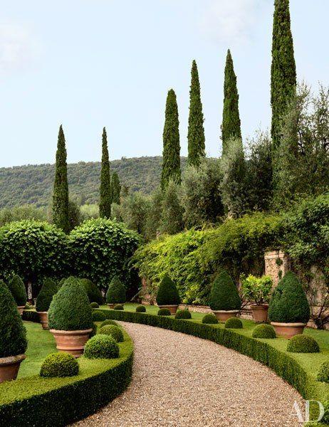 Ned Lambton's Tuscan Villa via AD
