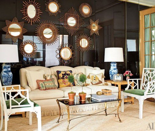 Recpetion in Tory Burch's Manhattan Office