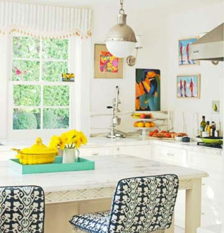 Ruthie Sommers Bold Kitchen via HB