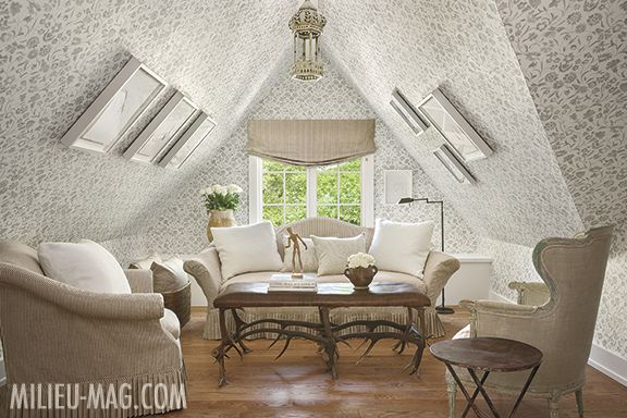 Sitting Area By Shannon Bowers In Milieu Magazine