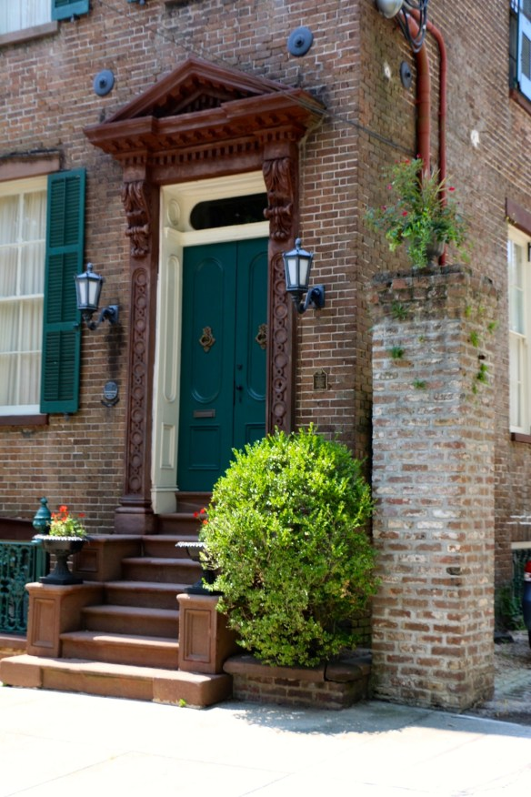 TPB Green Front Door