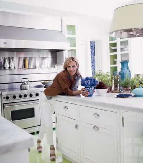 Tory Burch Manhattan Kitchen via Elle
