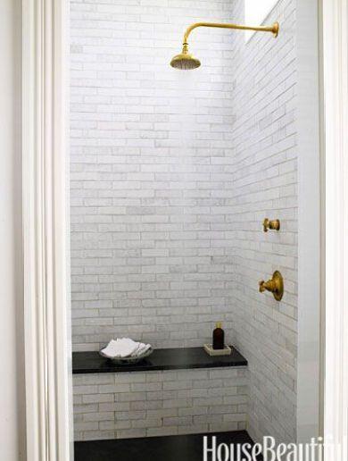 Bathroom by Juniper Tedhams in House Beautiful