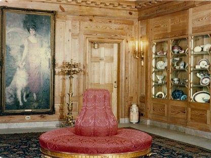 Eisehower China Room via White House Museum