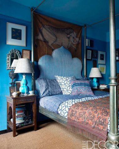 John Robshaw's apartment via Elle Decor