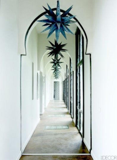 the home of Maraym Montague & Chris Redecke in Marrakech Elle Decor