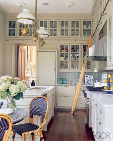 A kitchen by Katie Ridder via Elle Decor