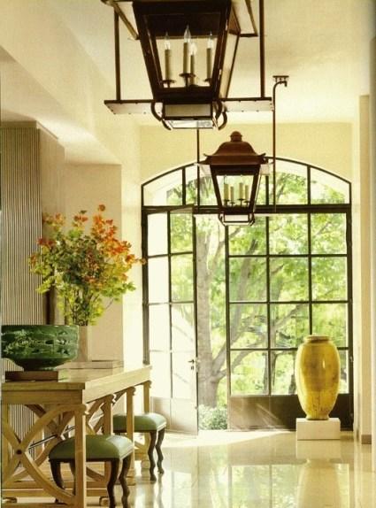 Beautiful Industrial Doors via Veranda
