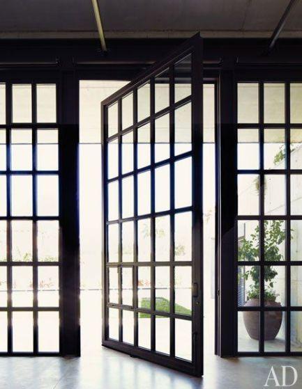 Studio Home door by Tom Kundig in Architectural Digest