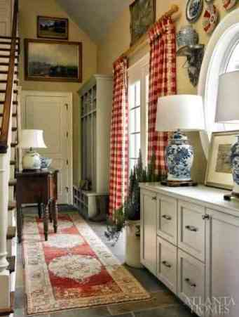 Atlanta Homes and Lifestyles Plaid Curtains