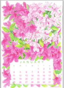 Ling Chang desktop calendar