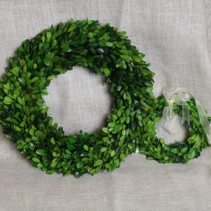 Preserved Boxwood Wreath by Boxwoods in Atlanta